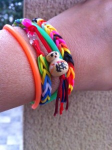 Chinitos de la Suerte - Arm Party - Rainbow Loom